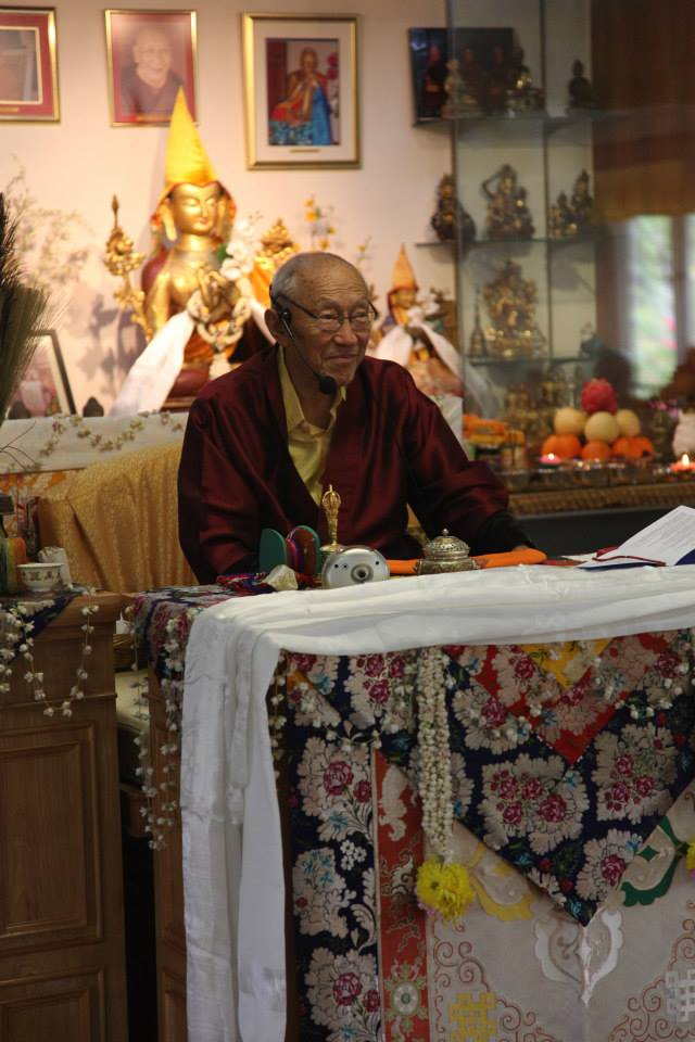 Long Life Ceremony for Dagpo Rinpoche