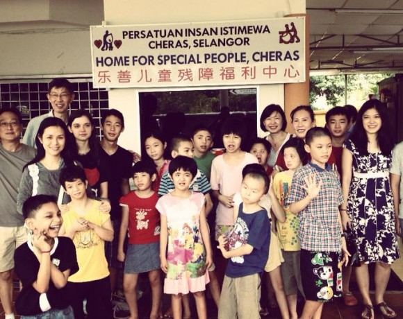 Visit to Home for Special People, Cheras