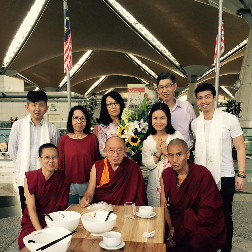Welcoming His Eminence Drepung Tripa Khensur Rinpoche